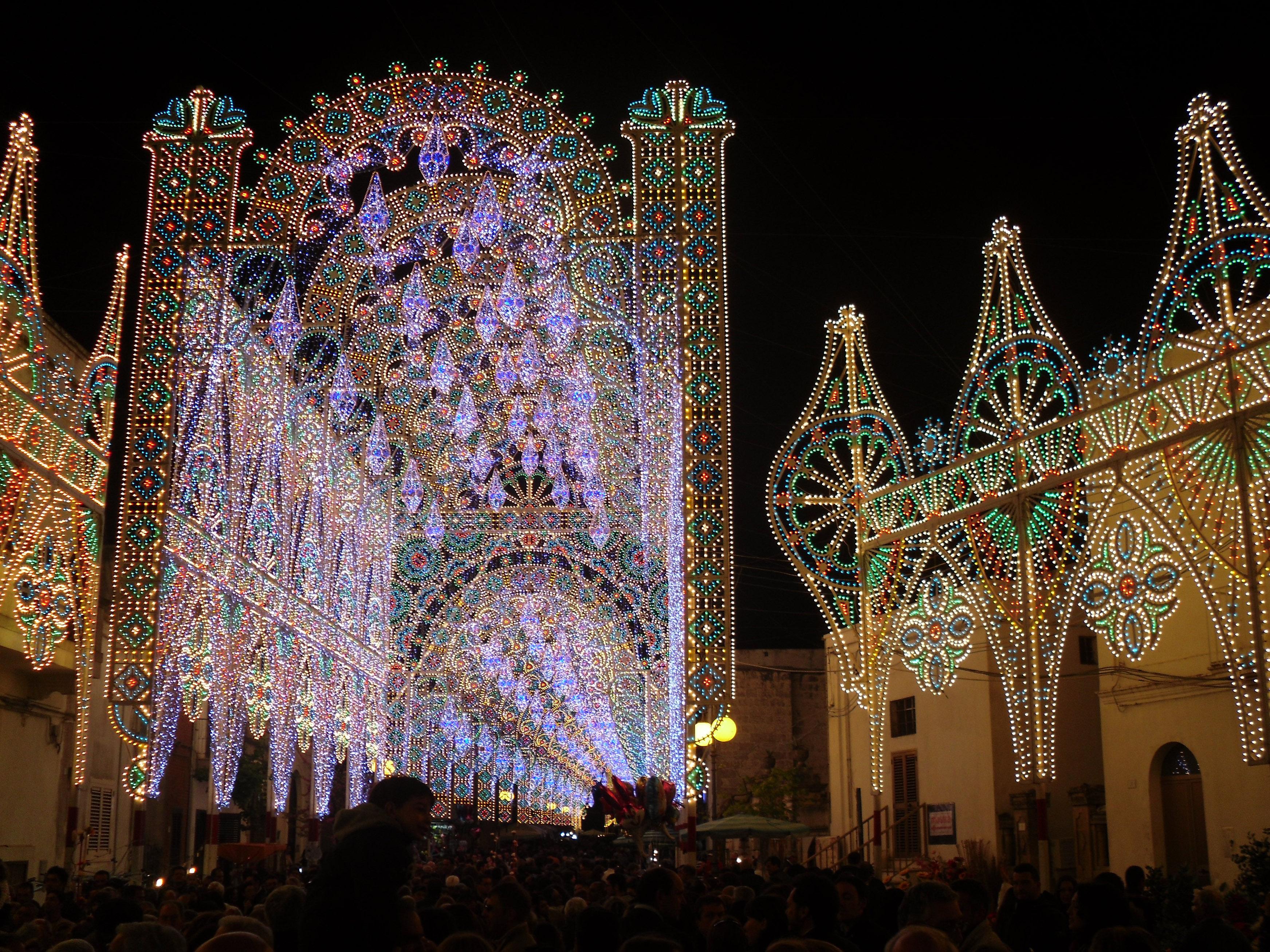Le luminarie Salentine